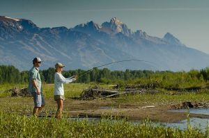 Fly Fishing Jackson Hole - Snake River