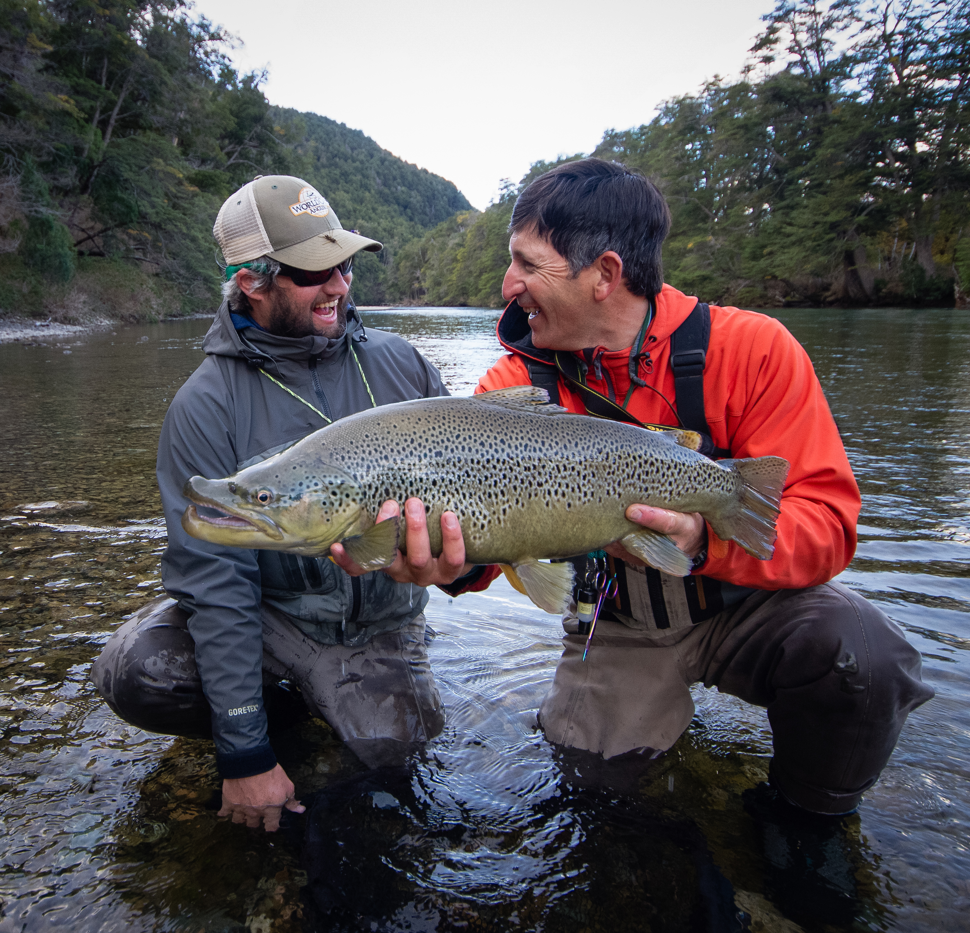 Patagonia river guides argentina fly fishingworld cast for Patagonia fly fishing