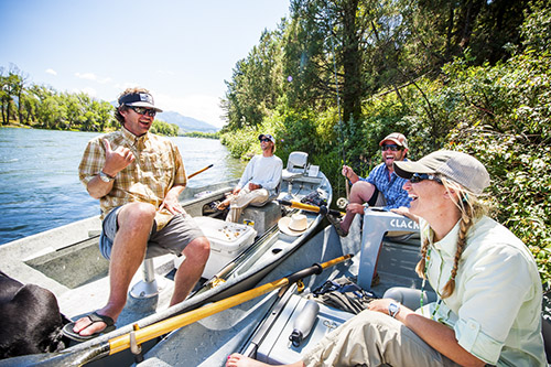 Western Rivers Fly Fishing Guide School #1