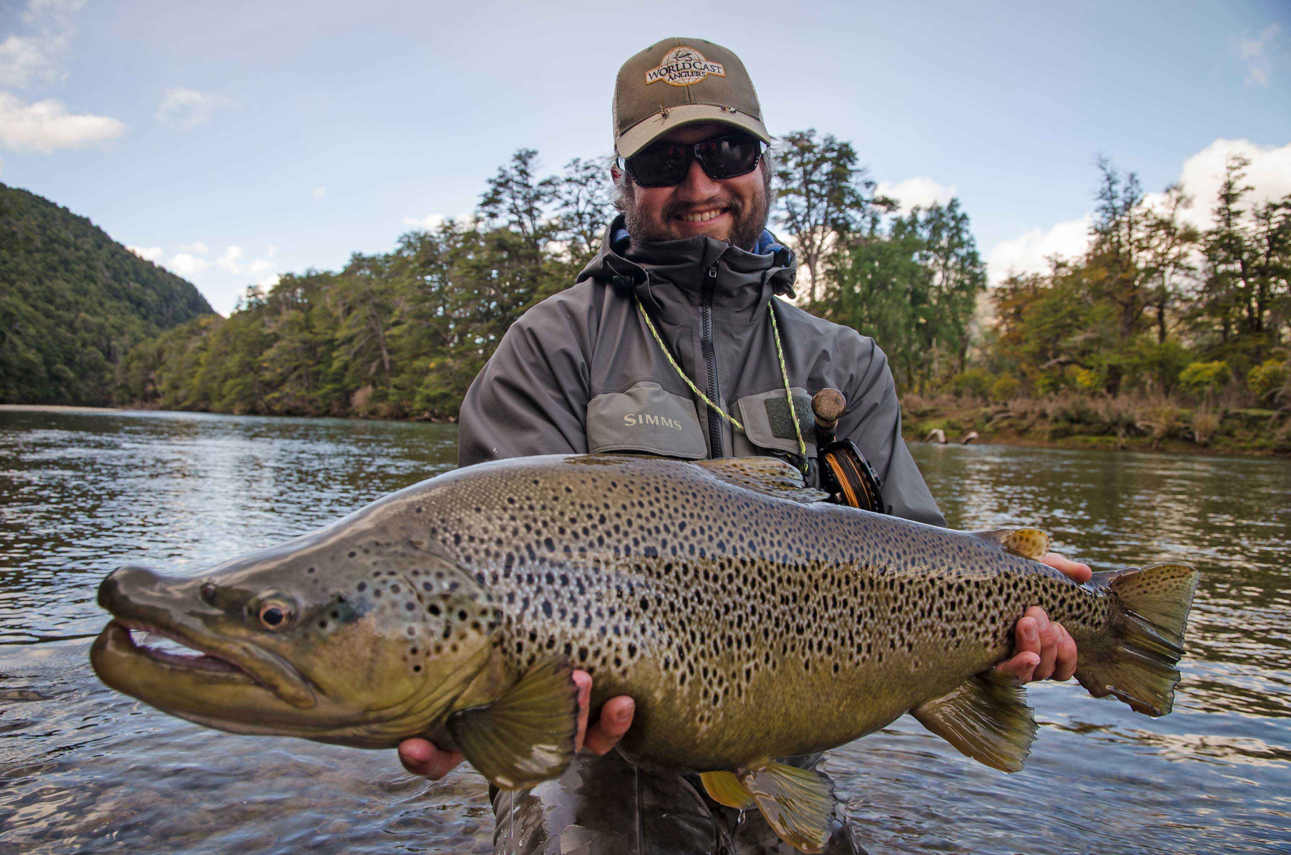 Patagonia hosted trip report worldcast anglers for Big fish characters