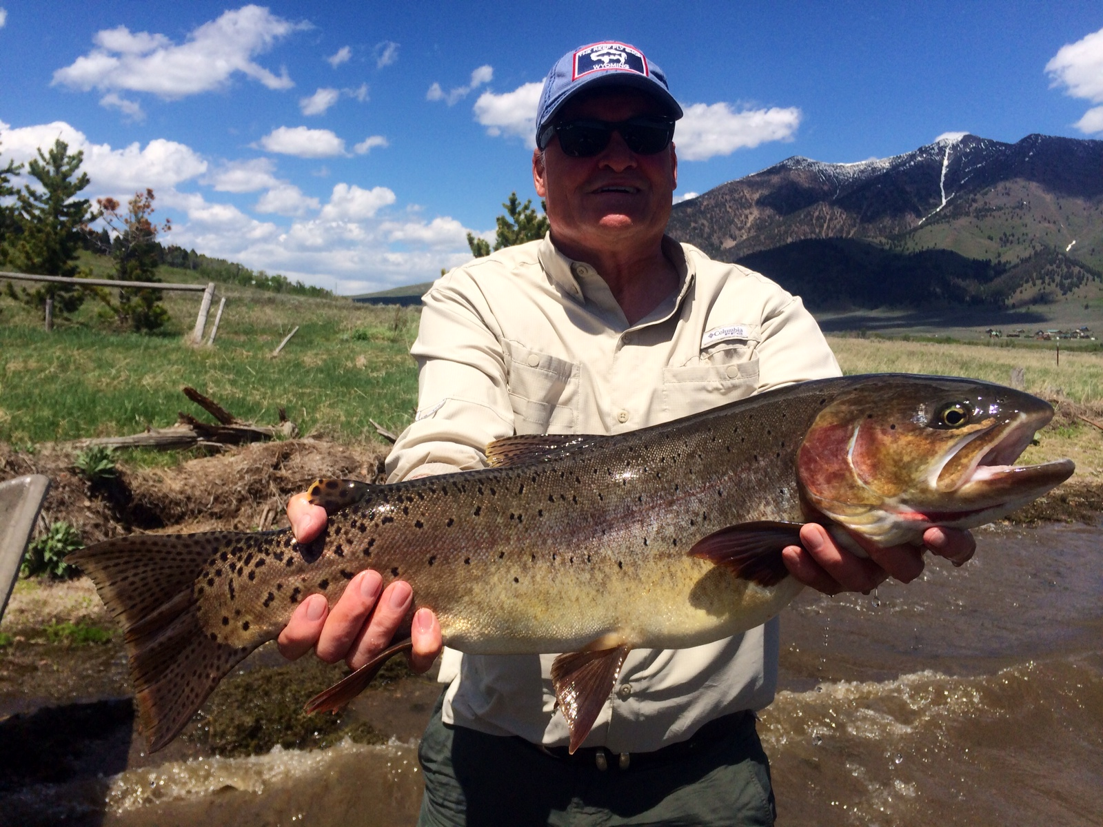 Fishing reports lakes and reservoirs worldcast anglers for Wyoming fishing license