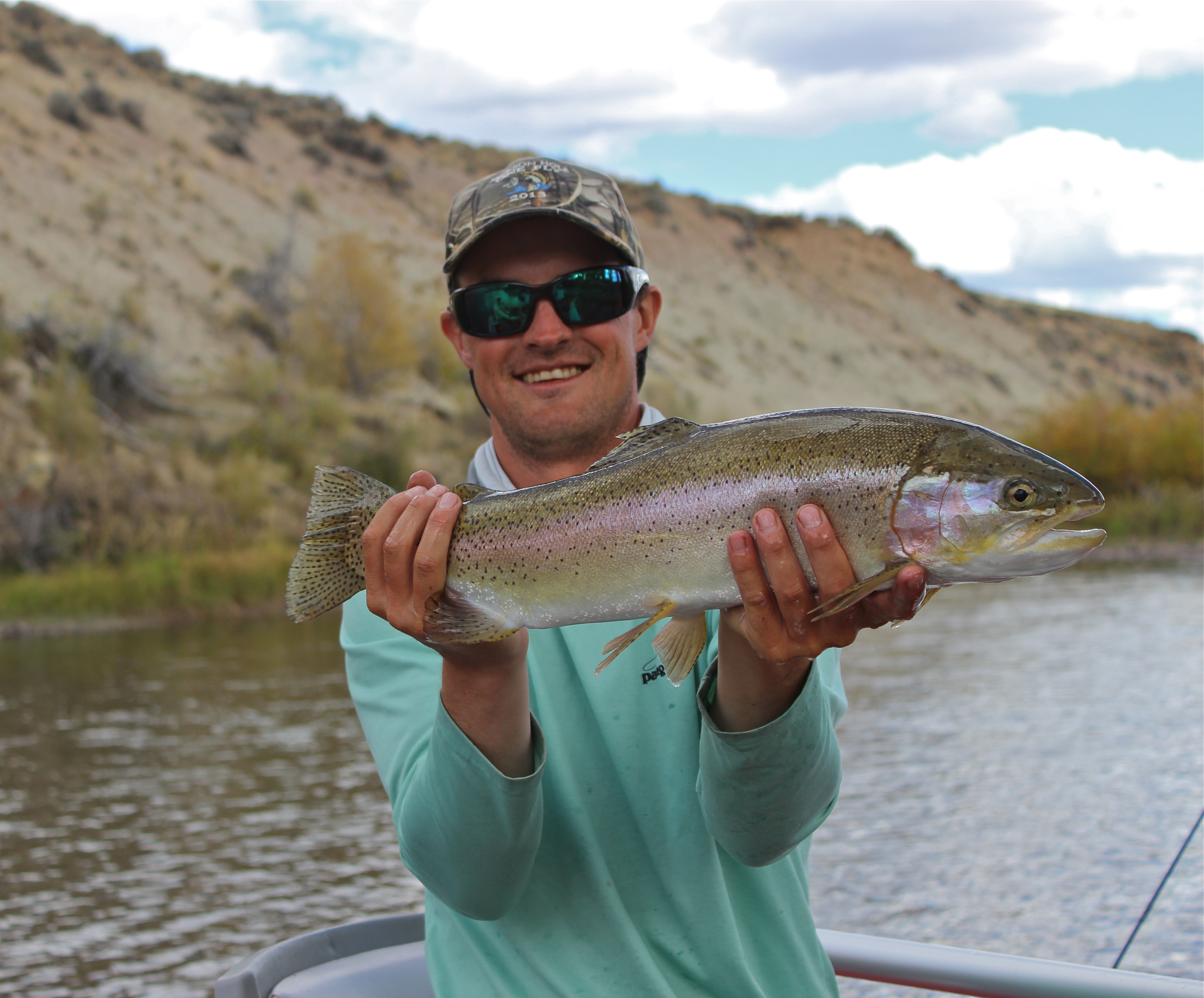 Fishing reports green river world cast anglersworld for Green river fly fishing report