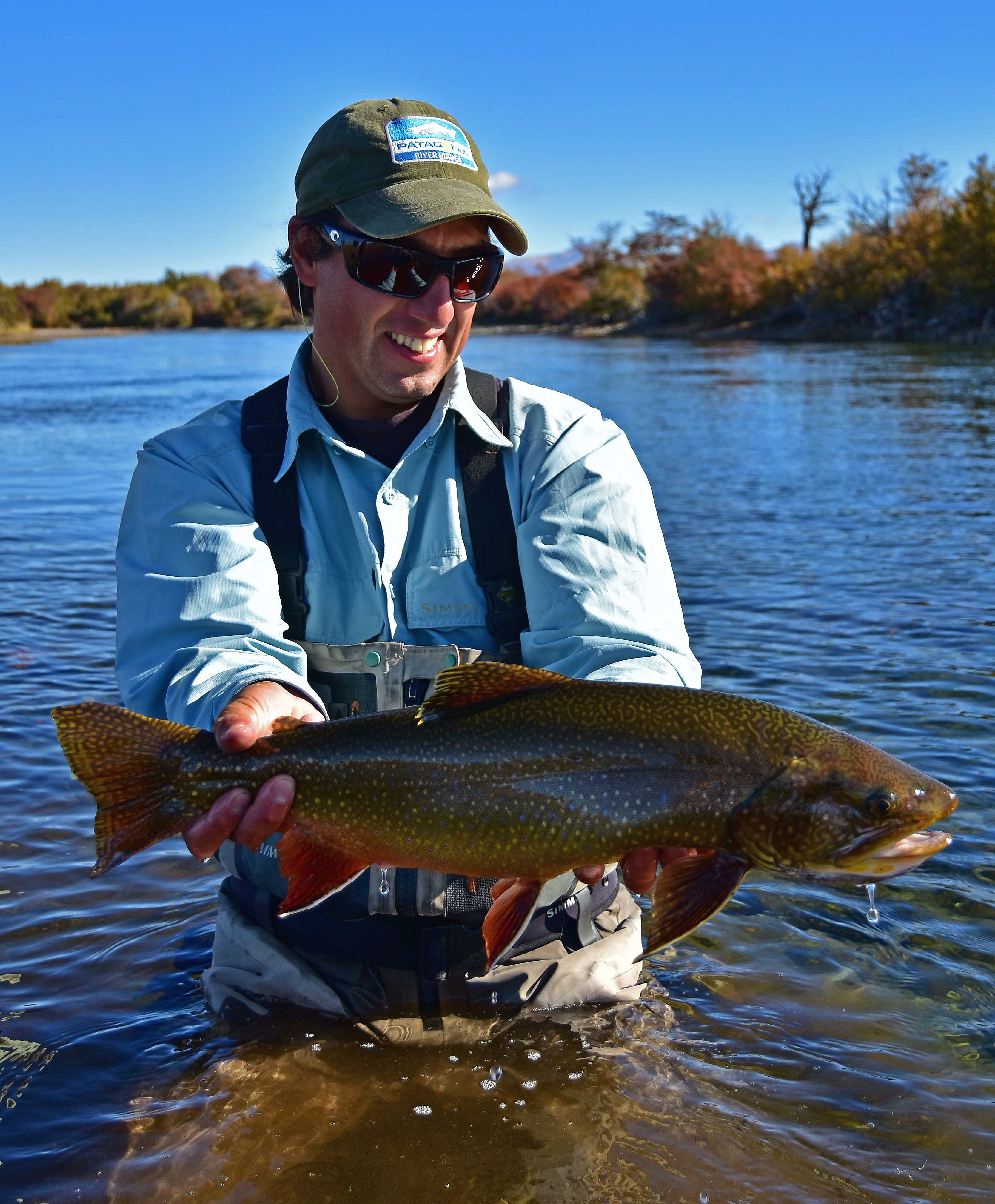 Patagonia river guides fly fishing hosted trip report for Fl fishing report