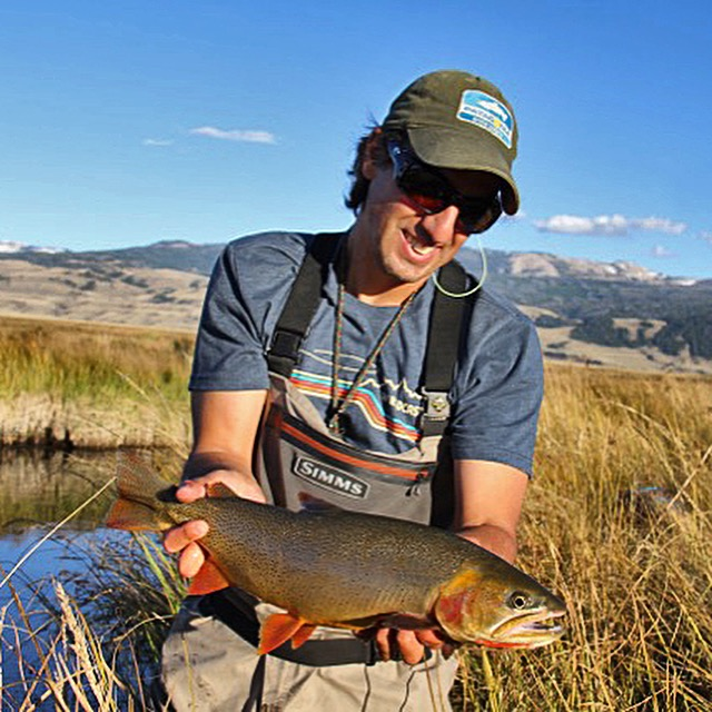 Flat creek fishing report worldcast anglers for Fishing license wyoming