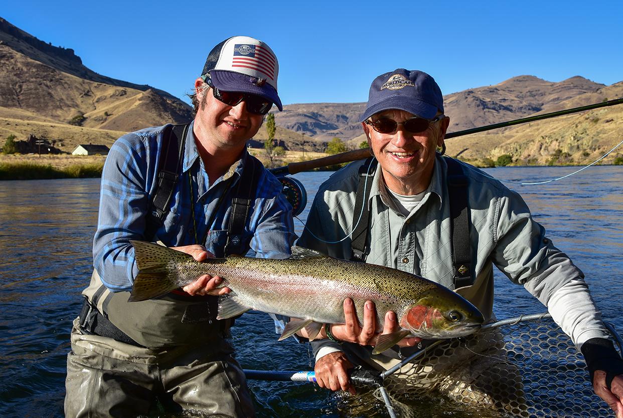 Deschutes river steelhead oregon worldcast anglers for Oregon steelhead fishing