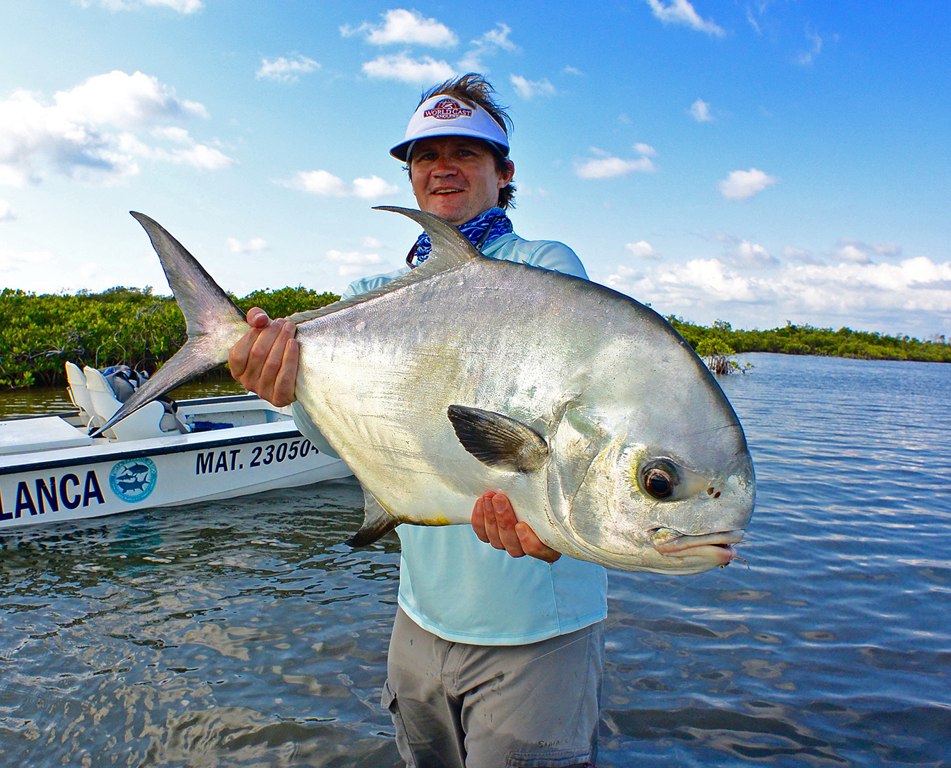 Playa blanca permit fly fishing trip report worldcast for Permit fly fishing