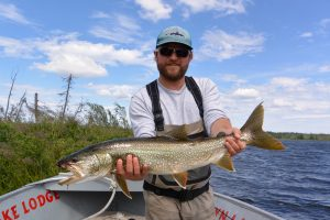 Selwyn Lake Pike Fly Fishing Hosted Trip Report