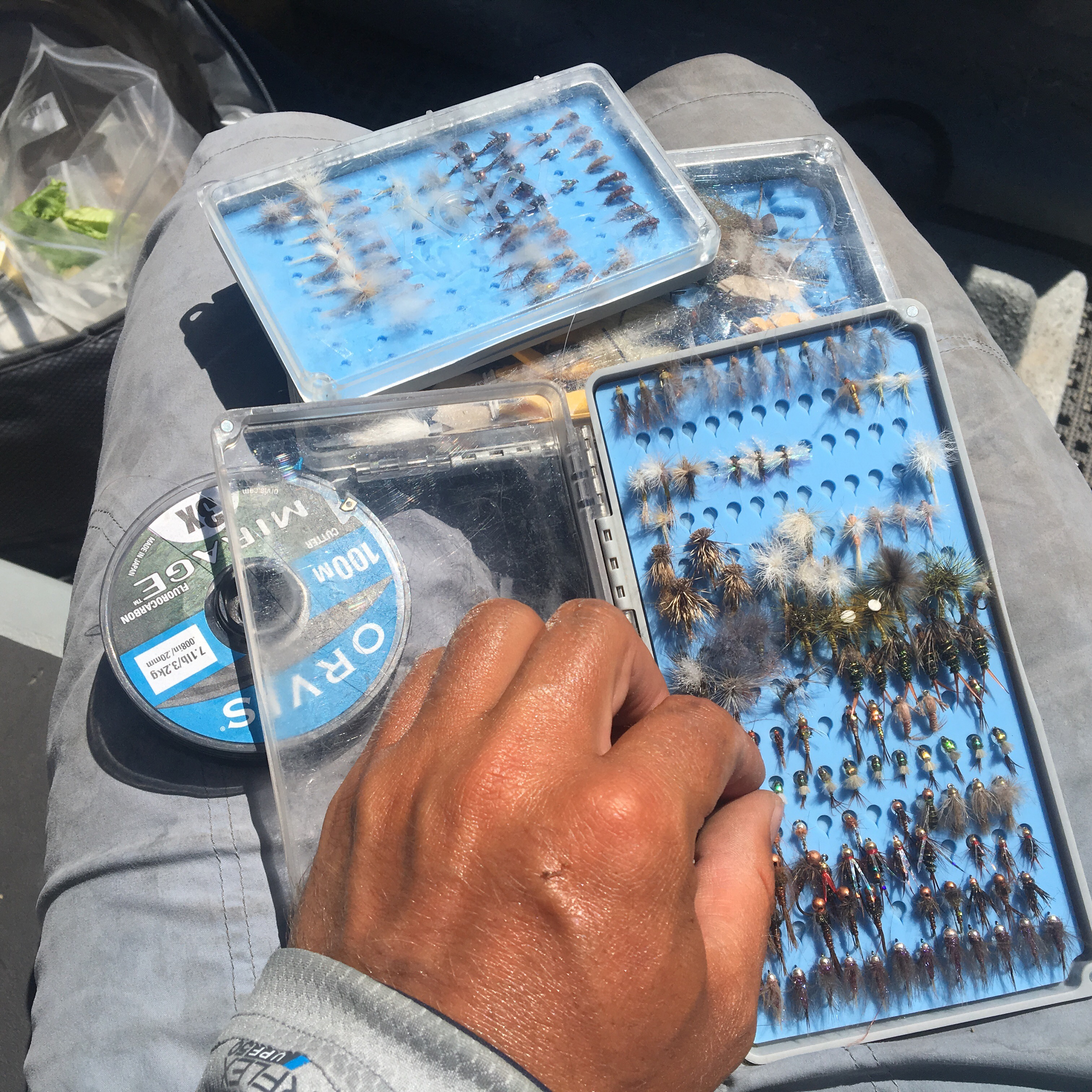 Tacky Fly Boxes Day Pack