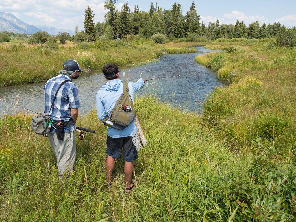 Walk wade jackson hole fishing report for Jackson lake fishing report